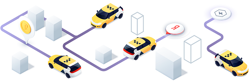 Работа в Яндекс такси водителем
